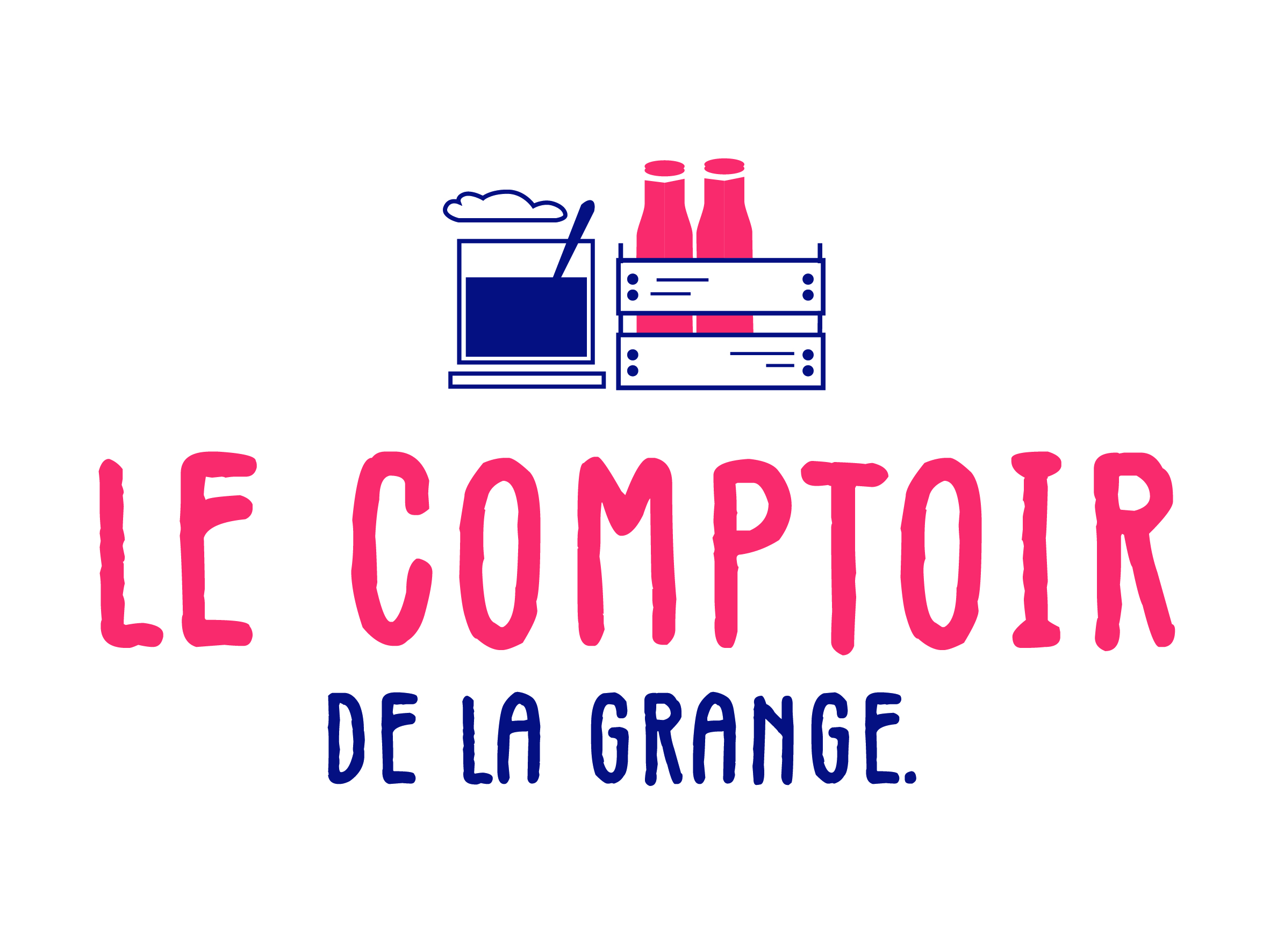 Le comptoir de La Grange